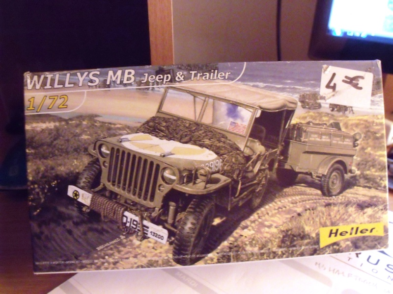 JEEP WILLYS ambulance base Heller au 1/72 en scratch Jpam_010