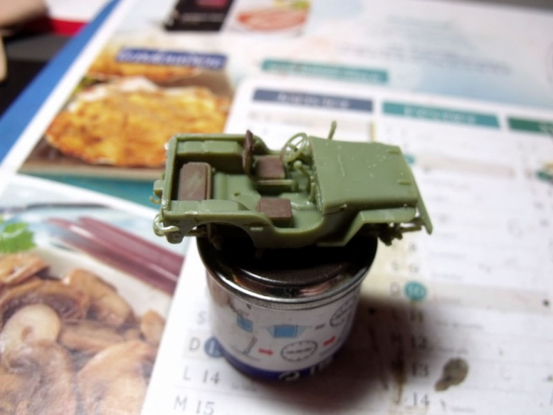 JEEP WILLYS ambulance base Heller au 1/72 en scratch Jpam_011