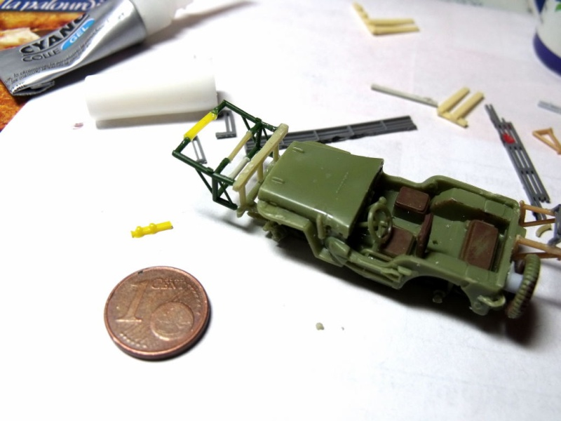 JEEP WILLYS ambulance base Heller au 1/72 en scratch Jpam_019