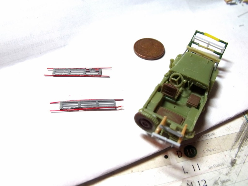 JEEP WILLYS ambulance base Heller au 1/72 en scratch Jpam_110