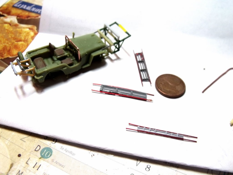 JEEP WILLYS ambulance base Heller au 1/72 en scratch Jpam_111