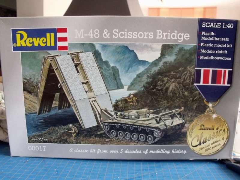 M48 et scissors bridge REVELL au 1/40 M48_0110
