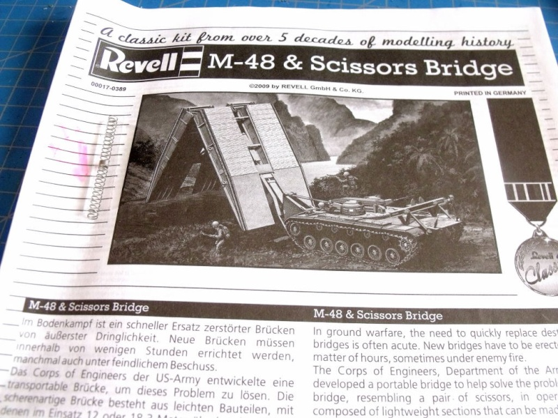 M48 et scissors bridge REVELL au 1/40 M48_0310