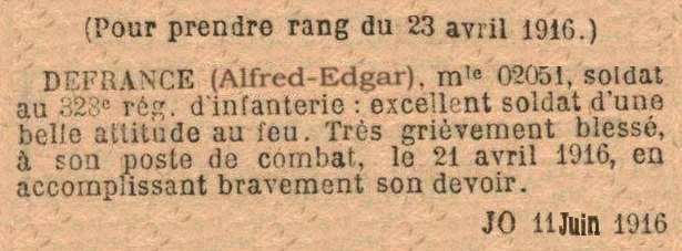 Un soldat de la grande guerre: portrait retouché. - Page 4 Willy11