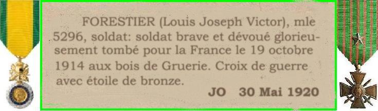 Un soldat de la grande guerre: portrait retouché. - Page 4 Willy_12