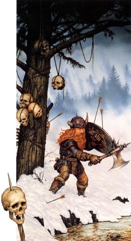 """Ilustraciones de """"Espada y Brujería"""" (NO Conan) 07f10"""