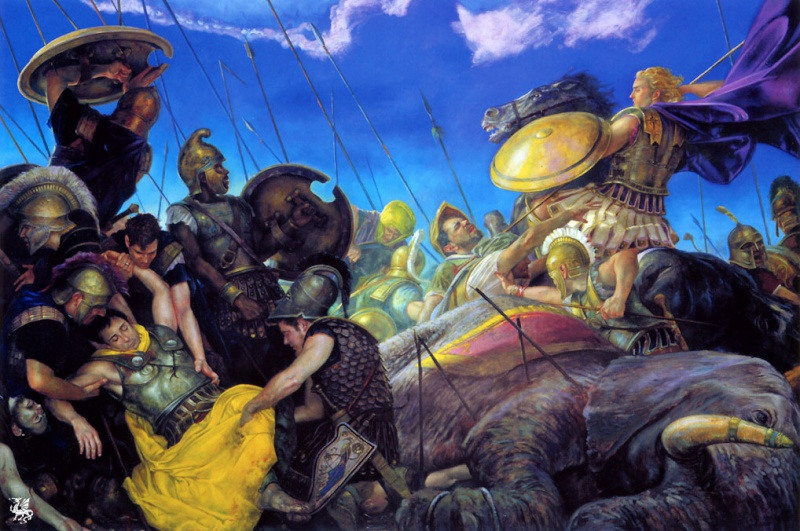 """Ilustraciones de """"Espada y Brujería"""" (NO Conan) Alexan10"""