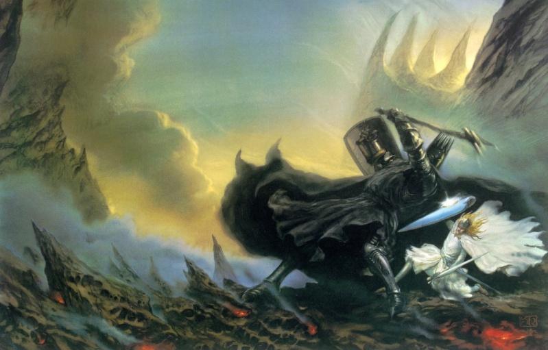 """Ilustraciones de """"Espada y Brujería"""" (NO Conan) Fantas10"""