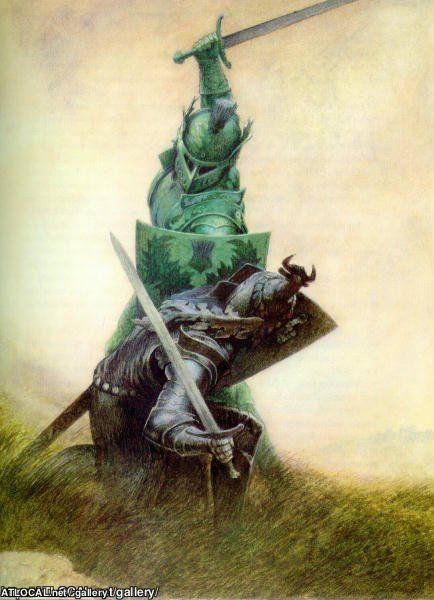 """Ilustraciones de """"Espada y Brujería"""" (NO Conan) Giantp10"""