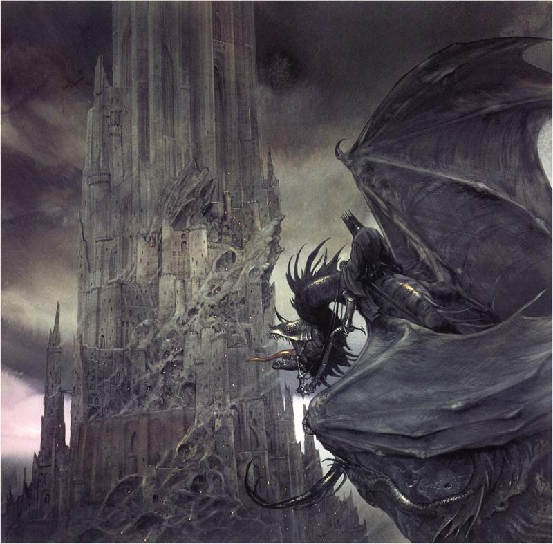 """Ilustraciones de """"Espada y Brujería"""" (NO Conan) John_h10"""