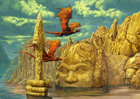 """Ilustraciones de """"Espada y Brujería"""" (NO Conan) Zoo37910"""