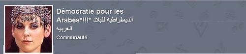 Démocratie pour les Arabes*!!!* الديمقراطيه للبلاد العربيه