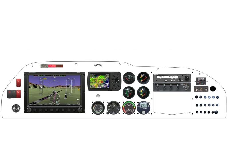 Dynon Skyview sur nos MCR Newpro10