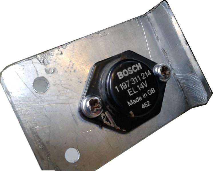 adaptation régulateur d'alternateur automobile sur moto 12V 510
