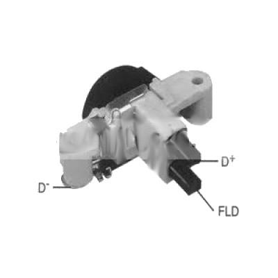 adaptation régulateur d'alternateur automobile sur moto 12V Brocha10