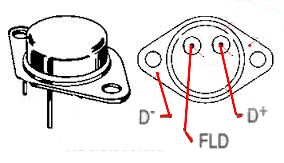 adaptation régulateur d'alternateur automobile sur moto 12V Brocha11