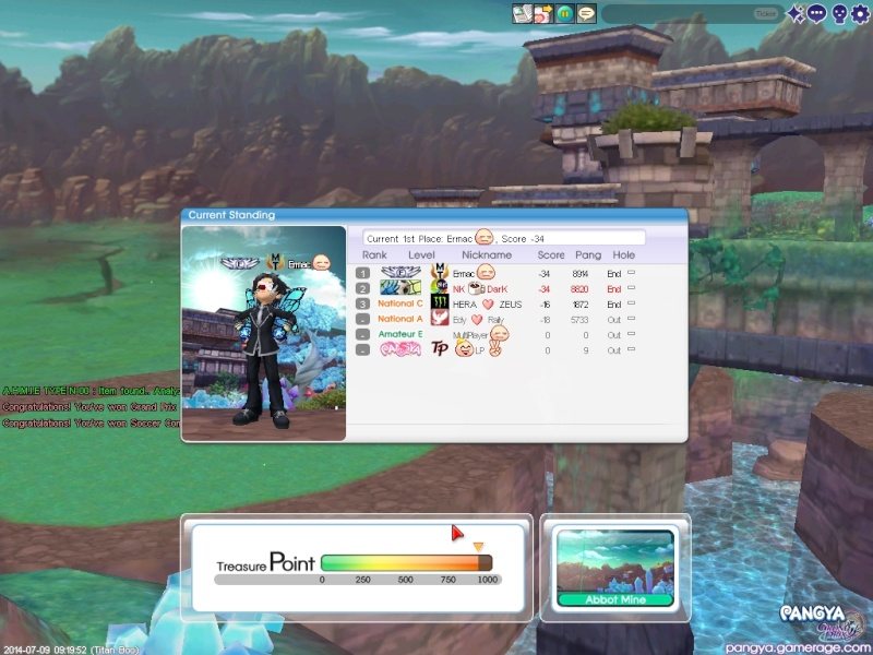 NK Treino - Abbot Mine - 09/07 a 15/07 Pangya13