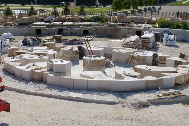 Restauration du bassin de Latone P1020310