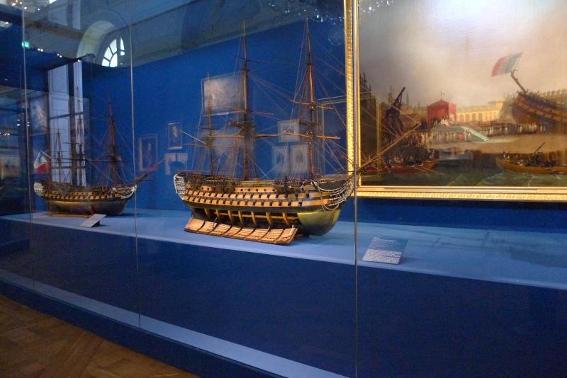 Maquettes de la Marine impériale. Grand Trianon P1150715