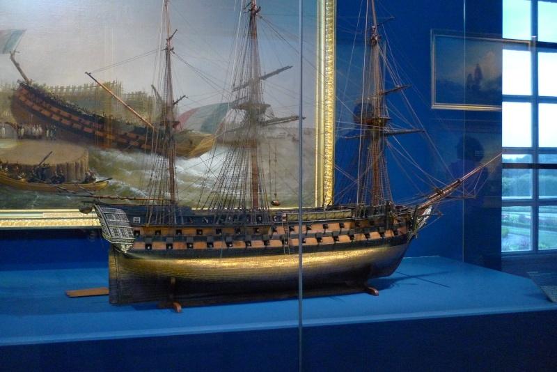 Maquettes de la Marine impériale. Grand Trianon P1150716