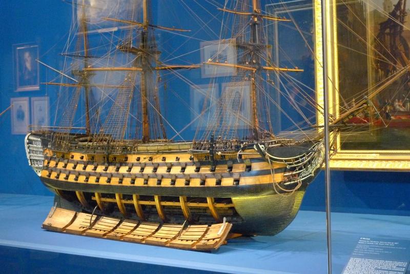 Maquettes de la Marine impériale. Grand Trianon P1150717