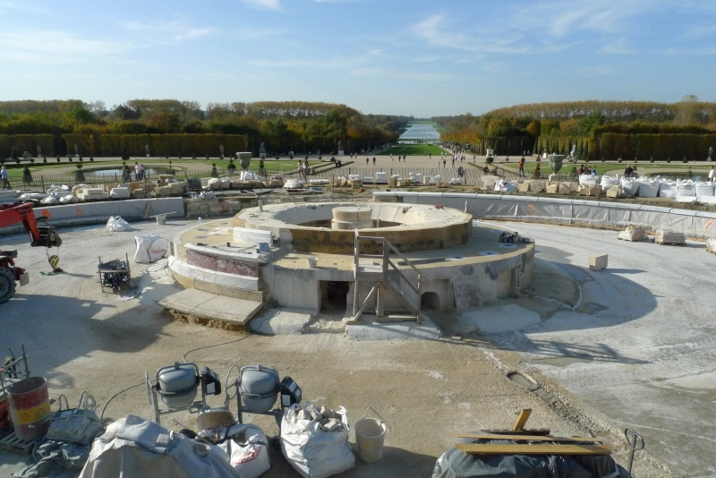 Restauration du bassin de Latone P1160415