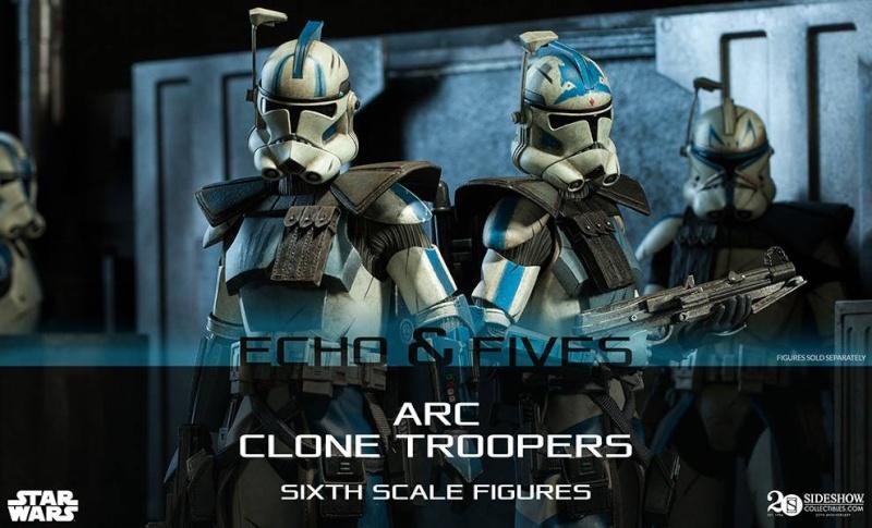 CLONE WARS - ECHO & FIVES ARC TROOPERS 10355610