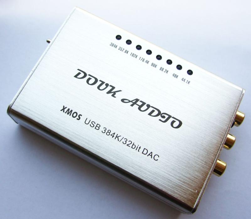 Douk Audio: DAC USB PCM5102 XMOS 384K/32bit  55 euro spedito Douk10