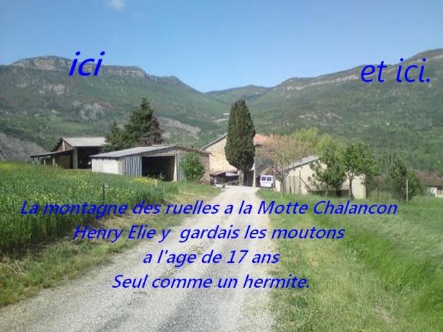 La Motte Chalancon . Vue_su10