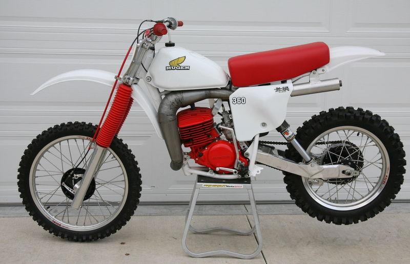 Honda 650 RS Mugen Dirt Track 48906410
