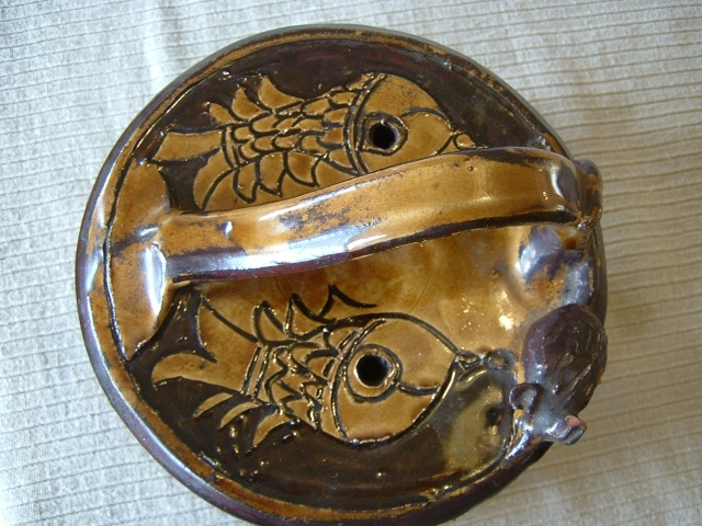 Sheen slipware pottery - William Lloyd, Salisbury Malver13