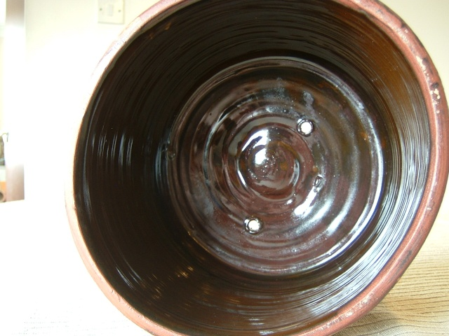 Sheen slipware pottery - William Lloyd, Salisbury Malver14