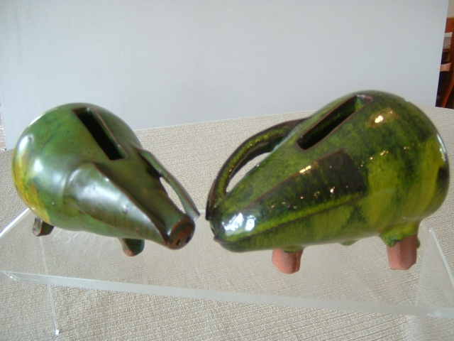 saundersfoot pottery Pigs_010