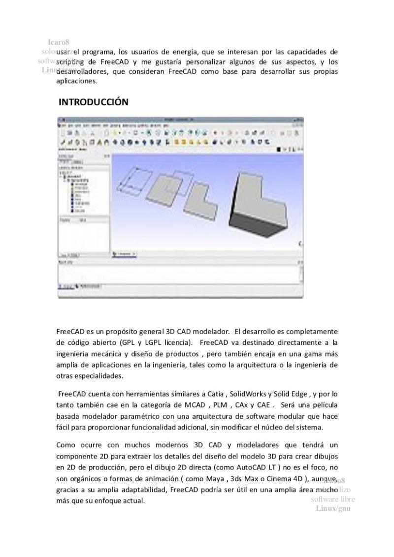 FreeCAD, Un gran 3D-CAD libre  manual en ESPAÑOL 2 123
