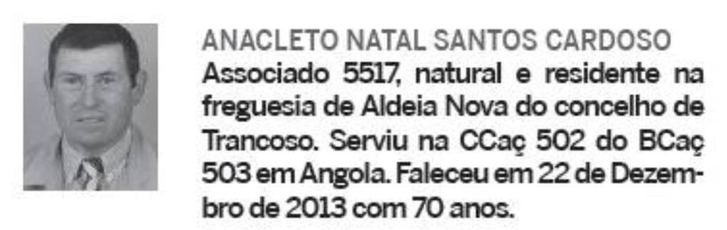 Notas de óbito: Veteranos da Guerra do Ultramar, publicadas no jornal ELO, da ADFA, de Março de 2014 04anac10