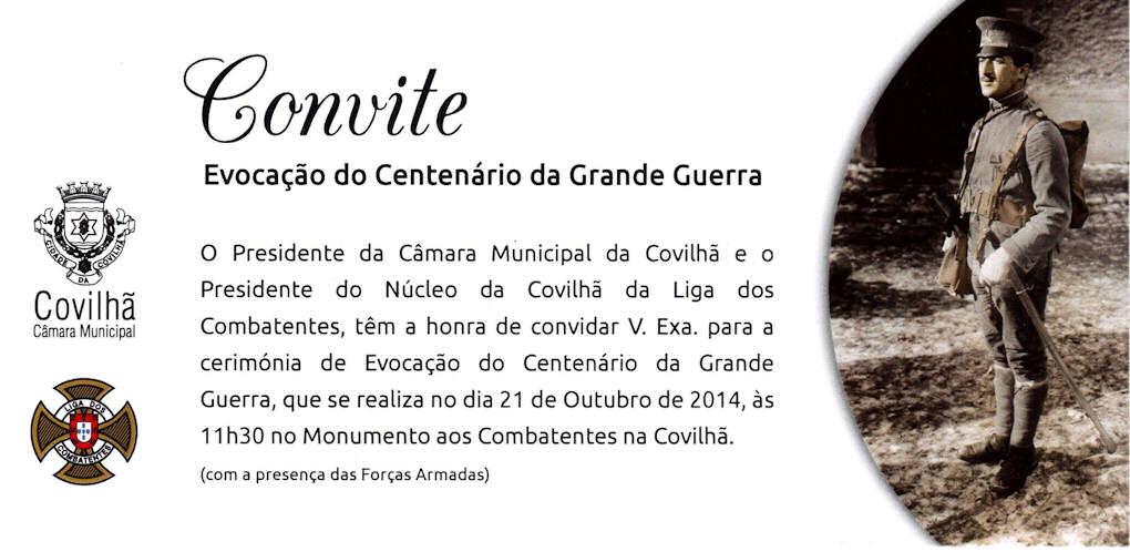 21Out2014 - Evocação do Centenário da Grande Guerra - Núcleo da Covilhã da Liga dos Combatentes 10722910