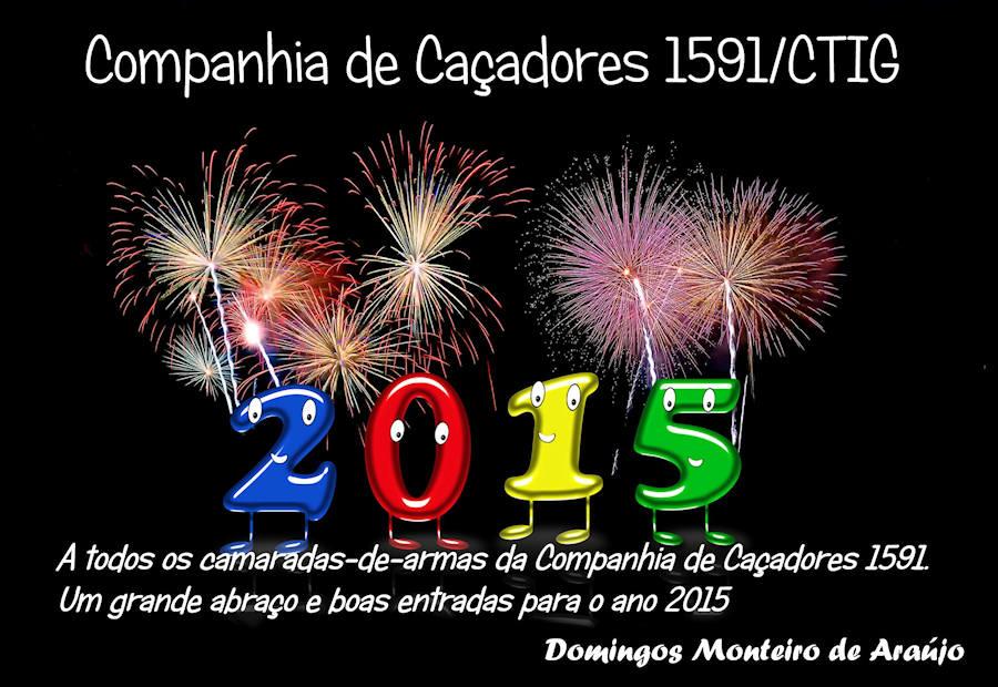 Mensagem do veterano Domingos Monteiro de Araújo, da CCac1591/CTIG 159110