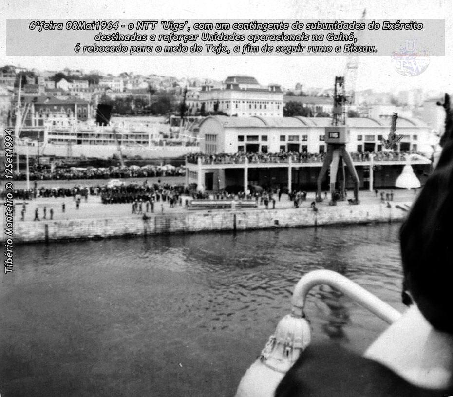 Aconteceu há 50 anos - 12Set1964 > 12Set2014 - Furriel Mil.º Tibério Monteiro, da CCac674 (Guiné) 19640512