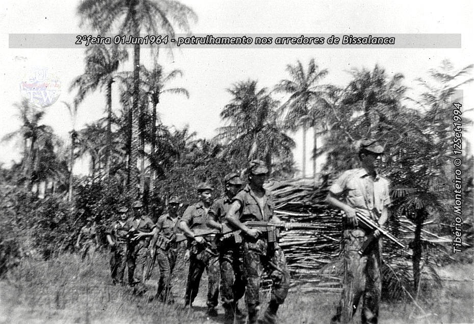 Aconteceu há 50 anos - 12Set1964 > 12Set2014 - Furriel Mil.º Tibério Monteiro, da CCac674 (Guiné) 19640610