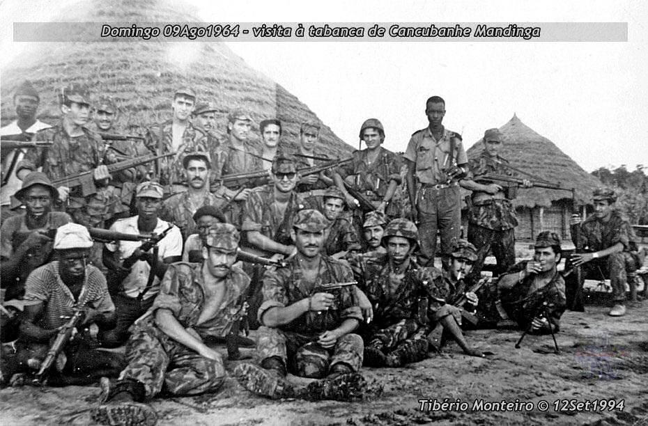 Aconteceu há 50 anos - 12Set1964 > 12Set2014 - Furriel Mil.º Tibério Monteiro, da CCac674 (Guiné) 19640811