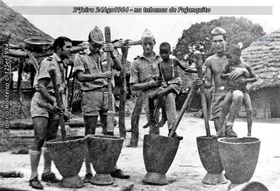 Aconteceu há 50 anos - 12Set1964 > 12Set2014 - Furriel Mil.º Tibério Monteiro, da CCac674 (Guiné) 19640812