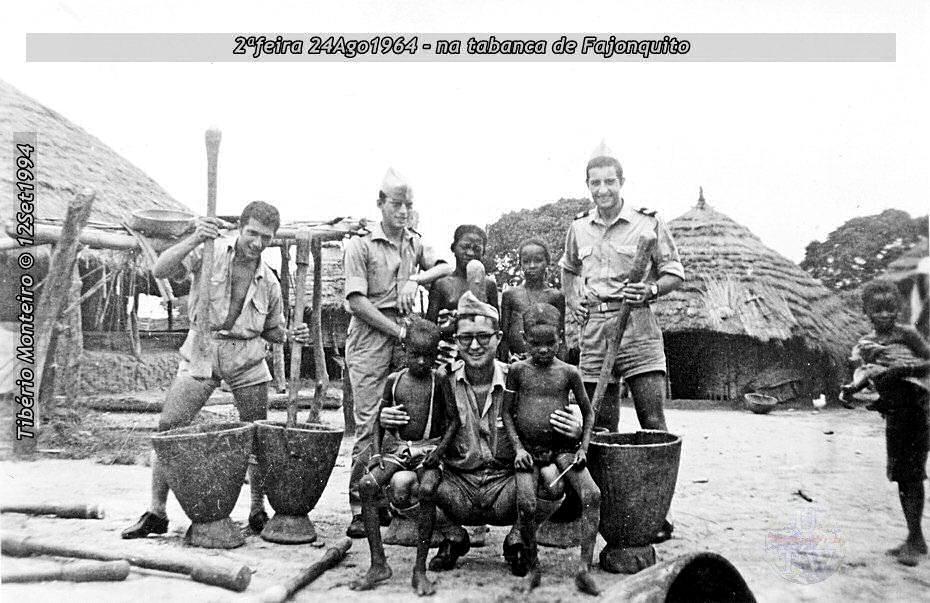 Aconteceu há 50 anos - 12Set1964 > 12Set2014 - Furriel Mil.º Tibério Monteiro, da CCac674 (Guiné) 19640813