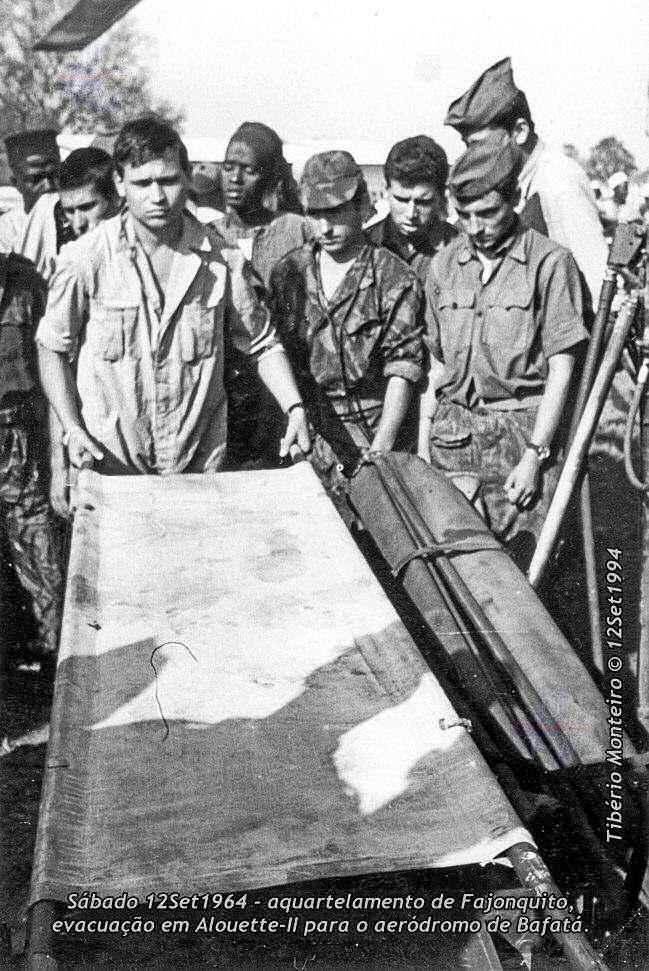 Aconteceu há 50 anos - 12Set1964 > 12Set2014 - Furriel Mil.º Tibério Monteiro, da CCac674 (Guiné) 19640911