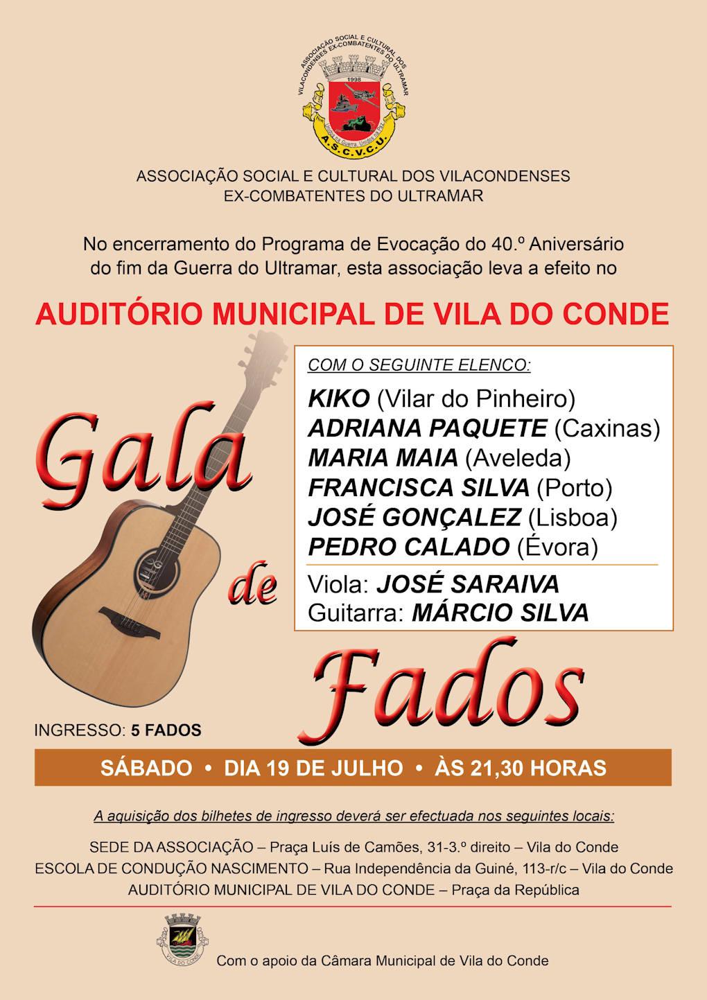 Vila do Conde - Gala de Fados - 19Jul2014 - 21H30 - Auditório Municipal Fados10