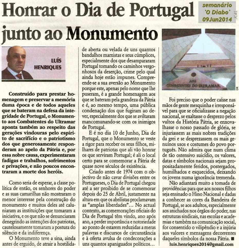 «Honrar o Dia de Portugal junto ao Monumento» por Luís Henriques Honrar10