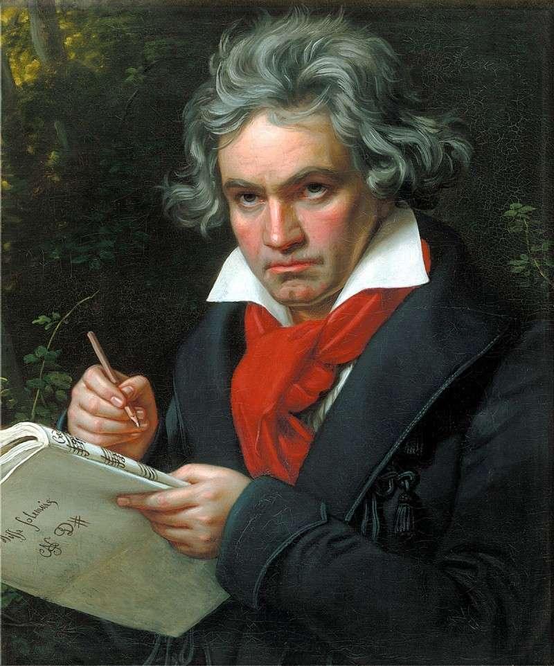 Grandes compositores de música clásica. Vota por tus favoritos Beetho10