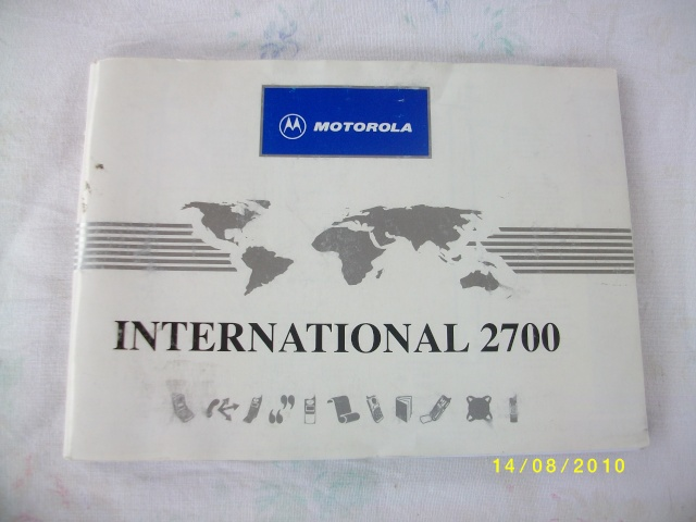 [VENTE] Manuel d'utilisation téléphone Motorola 2700 international Imgp0012