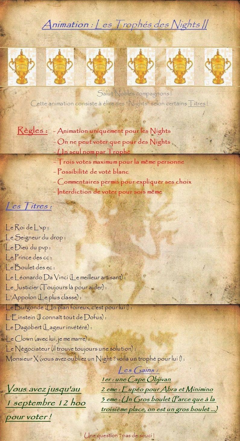 Les trophés des Nights II Event_10