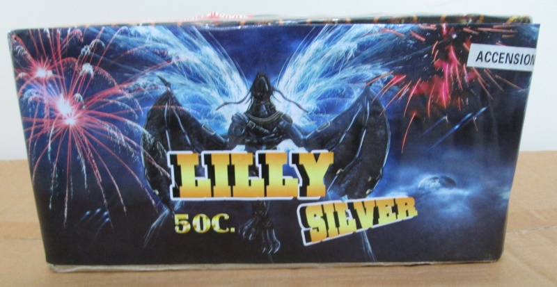 LILLY SILVER 50C. 00412