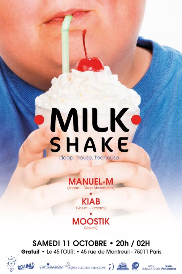 Milk Shake: samedi 11 octobre - 45 Tours (Paris 11) Milk_s10